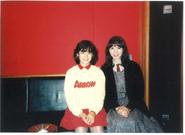 Takeuchi Mariya and Okada Yukiko 1983