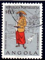 Angola 1957 Indigenous Peoples of Angola a