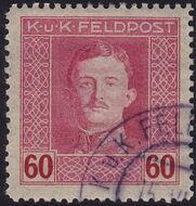 Austria 1917-1918 Emperor Karl I (Military Stamps) n