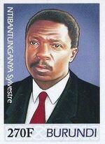 Burundi 2012 Presidents of Burundi - Sylvestre Ntibantunganya a