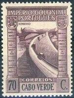 Cape Verde 1938 Portuguese Colonial Empire k