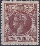Elobey, Annobon and Corisco 1905 King Alfonso XIII k