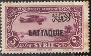 Latakia 1931 Air Post Stamps of Syria 1931 Overprinted e