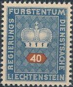 Liechtenstein 1950 Crown e