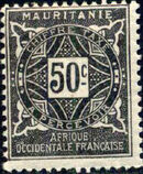 Mauritania 1914 Postage Due Stamps f