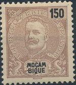 Mozambique 1898 D. Carlos I k