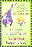 Mozambique 2002 Olympic Winter Games 2002 - Salt Lake City b