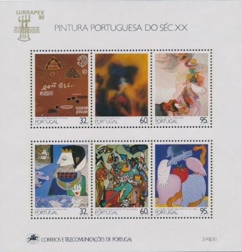 Portugal 1990 Portuguese Paintings of the 20th Century (6th Group) f