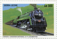 Sierra Leone 1995 Railways of the World 4a