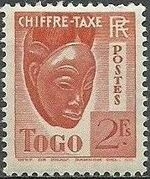 Togo 1941 Postage Due i