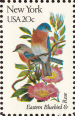 United States of America 1982 State birds and flowers zd