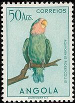 Angola 1951 Birds from Angola x
