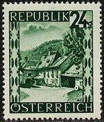 Austria 1946 Landscapes (II) g