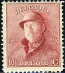 Belgium 1919 King Albert in Trench Helmet d