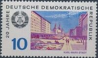 Germany DDR 1969 20th Anniversary of DDR k