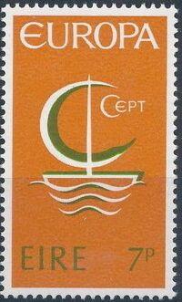 Ireland 1966 Europa a