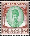 Malaya-Kedah 1950 Definitives o