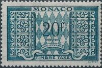 Monaco 1946 Postage Due Stamps j