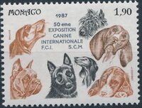 Monaco 1987 International Dog Show, Monte Carlo a