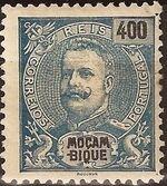 Mozambique 1903 D. Carlos I - New Values and Colors m
