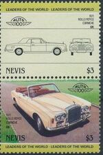 Nevis 1985 Leaders of the World - Auto 100 (3rd Group) h