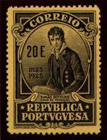 Portugal 1925 Birth Centenary of Camilo Castelo Branco ae