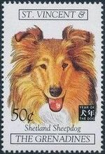 St Vincent and the Grenadines 1994 Chinese New Year - Year of the Dog s