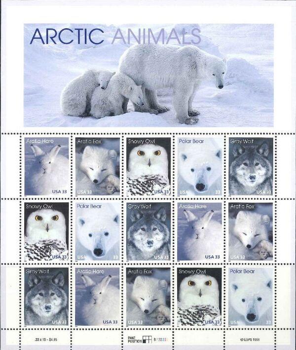 United States of America 1999 Arctic Animals Sa