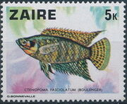 Zaire 1978 Fishes c