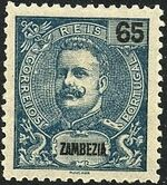 Zambezia 1903 D. Carlos I d