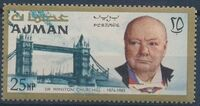 Ajman 1966 Winston Churchill a