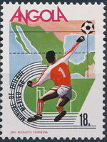 Angola 1986 World Cup - Mexico 86 f