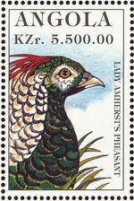 Angola 1996 Hunting Birds i