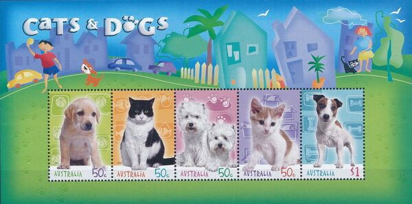 Australia 2004 Cats & Dogs h