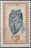 Belgian Congo 1948 African Masks and Wood Art (2nd Group) l