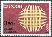 Belgium 1970 Europa a
