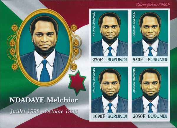 Burundi 2012 Presidents of Burundi - Melchior Ndadaye h
