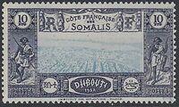 French Somali Coast 1938 Definitives u