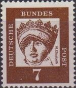 Germany, Federal Republic 1961 Famous Germans b