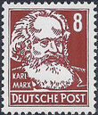 Germany DDR 1952 Famous People c