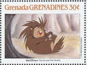 Grenada Grenadines 1988 The Disney Animal Stories in Postage Stamps 2g