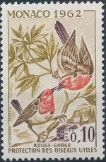 Monaco 1962 Protection of Useful Birds b