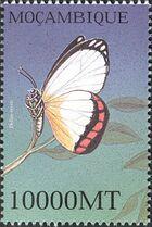 Mozambique 2002 Butterflies o