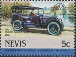 Nevis 1984 Leaders of the World - Auto 100 (1st Group) l