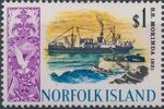 Norfolk Island 1968 Ships - Definitives (4th Issue) k
