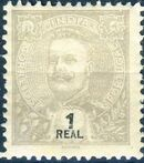 Portuguese India 1903 D. Carlos I - New Colours and Values a