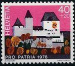 Switzerland 1978 PRO PATRIA - Castles b
