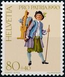 Switzerland 1990 PRO PATRIA - Street criers c