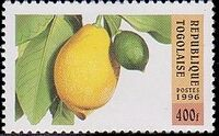 Togo 1996 Fruits e