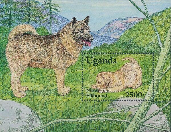Uganda 1993 Dogs Sb